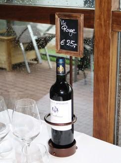 Présentoir à bouteille de vin avec ardoise - Devis sur Techni-Contact.com - 3