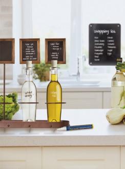 Présentoir à bouteille de vin avec ardoise - Devis sur Techni-Contact.com - 5