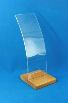 Présentoir à ceintures en bois et plexiglas - Devis sur Techni-Contact.com - 2