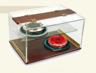 Présentoir à gâteaux avec étagère - Devis sur Techni-Contact.com - 1