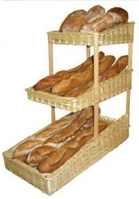 Présentoir à pain 3 niveaux - Devis sur Techni-Contact.com - 1