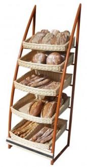 Présentoir à pain 5 niveaux - Devis sur Techni-Contact.com - 1