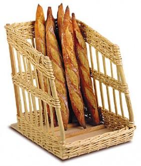 Présentoir à pain debout incliné - Devis sur Techni-Contact.com - 1