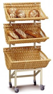 Présentoir à pain mobile - Devis sur Techni-Contact.com - 1