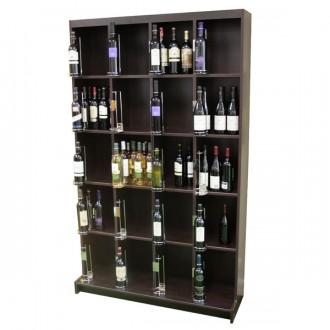 Présentoir à vin en bois - Devis sur Techni-Contact.com - 2