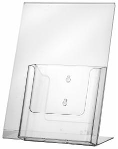 Présentoir acrylique incliné - Devis sur Techni-Contact.com - 1