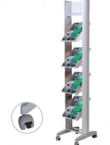 Présentoir brochure aluminium - Devis sur Techni-Contact.com - 2