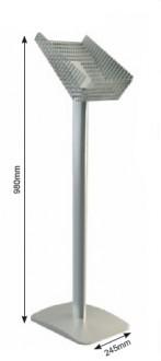 Présentoir brochure aluminium A4 - Devis sur Techni-Contact.com - 2