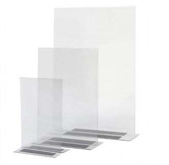 Présentoir brochures transparent - Devis sur Techni-Contact.com - 1