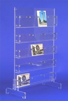 Présentoir carte postale plexiglas sur pieds - Devis sur Techni-Contact.com - 3