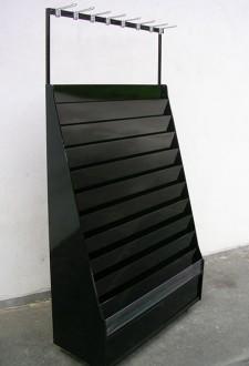 Présentoir carterie Noir - Devis sur Techni-Contact.com - 1