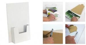 Présentoir en carton de comptoir - Devis sur Techni-Contact.com - 2