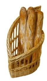 Présentoir en osier pour boulangerie - Devis sur Techni-Contact.com - 1