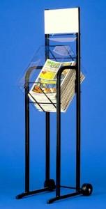 Présentoir métal pour journaux - Devis sur Techni-Contact.com - 2