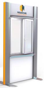 Présentoir métallique gamme XXL - Devis sur Techni-Contact.com - 1