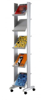 Présentoir mobile à brochures - Devis sur Techni-Contact.com - 1