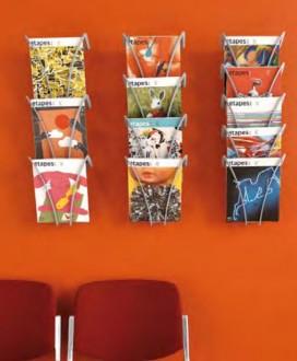 Présentoir mural A4 en polyamide - Devis sur Techni-Contact.com - 2