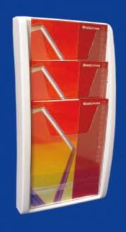 Présentoir mural monobloc pour brochure - Devis sur Techni-Contact.com - 1