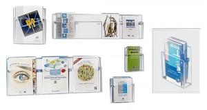 Présentoir mural pour brochures - Devis sur Techni-Contact.com - 1