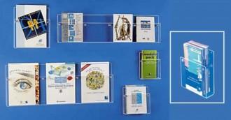 Présentoir mural pour brochures - Devis sur Techni-Contact.com - 2