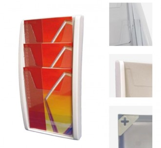 Présentoir mural pour catalogue - Devis sur Techni-Contact.com - 1