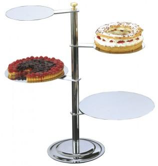 Présentoir pâtissier 4 étages - Devis sur Techni-Contact.com - 1