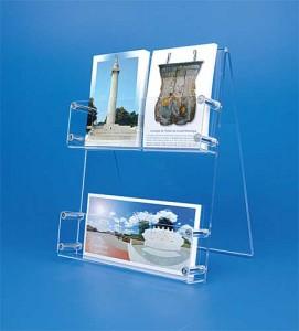 Présentoir plexi cartes postales de bureau - Devis sur Techni-Contact.com - 2