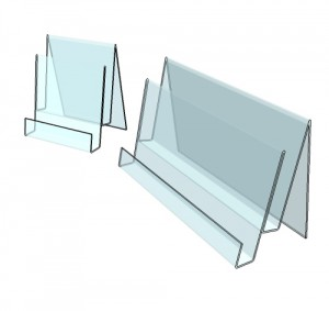Présentoir plexi comptoir 2 étages - Devis sur Techni-Contact.com - 3