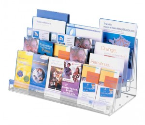 Présentoir plexiglas polyvalent - Devis sur Techni-Contact.com - 1