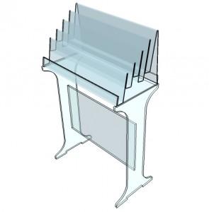 Présentoir plexiglas polyvalent - Devis sur Techni-Contact.com - 7