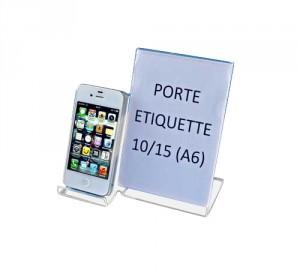 Présentoir plexi pour téléphone portable - Devis sur Techni-Contact.com - 1
