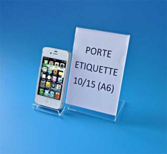 Présentoir plexi pour téléphone portable - Devis sur Techni-Contact.com - 2