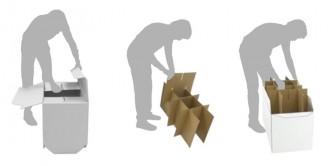 Présentoir pliant en carton - Devis sur Techni-Contact.com - 2