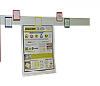 Présentoir pour brochure magnétique - Devis sur Techni-Contact.com - 1