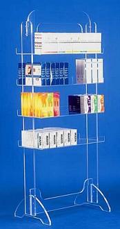 Présentoir produits plexi 4 étages - Devis sur Techni-Contact.com - 2