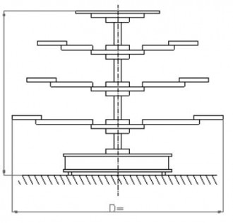 Présentoir rotatif tournant - Devis sur Techni-Contact.com - 1