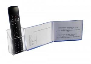 Présentoir télécommande plexi - Devis sur Techni-Contact.com - 1