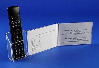 Présentoir télécommande plexi - Devis sur Techni-Contact.com - 2