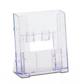 Présentoir transparent pour brochures - Devis sur Techni-Contact.com - 1