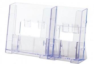 Présentoir transparent pour brochures - Devis sur Techni-Contact.com - 2