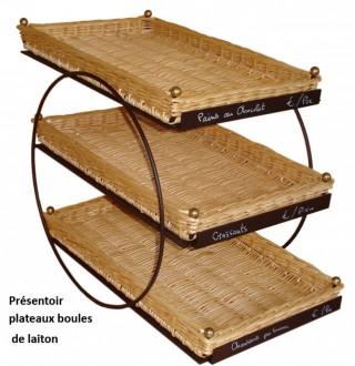 Présentoirs 3 étages supports en métal - Devis sur Techni-Contact.com - 3