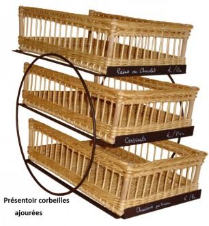 Présentoirs 3 étages supports en métal - Devis sur Techni-Contact.com - 4