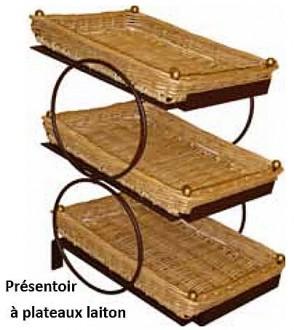 Présentoirs 3 étages supports en métal larges - Devis sur Techni-Contact.com - 2