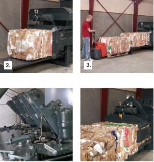 Presse à balle horizontale 30 tonnes - Devis sur Techni-Contact.com - 2