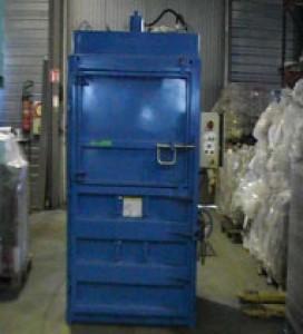 Presse à balle mono caisson pression compactage 60 tonnes - Devis sur Techni-Contact.com - 1