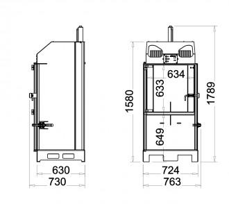 Presse à balles 3 Tonnes - Devis sur Techni-Contact.com - 4