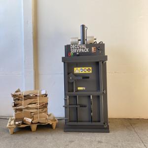 Presse à balles petites quantités déchets 20 - 30 kilos - Devis sur Techni-Contact.com - 1