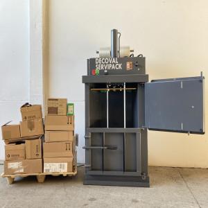 Presse à balles petites quantités déchets 20 - 30 kilos - Devis sur Techni-Contact.com - 2