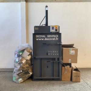Presse à balles verticale 60 kg - Devis sur Techni-Contact.com - 1