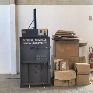 Presse à balles verticale 60 kg - Devis sur Techni-Contact.com - 3